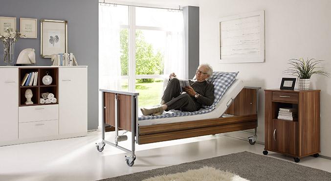 łóżko rehabilitacyjne domiflex 2 ciemne