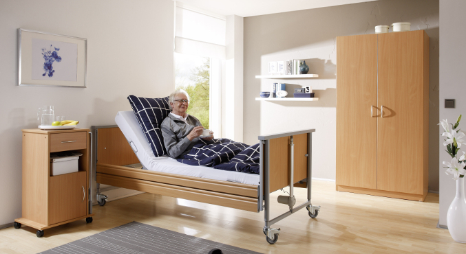 łóżko rehabilitacyjne domiflex 2 jasne