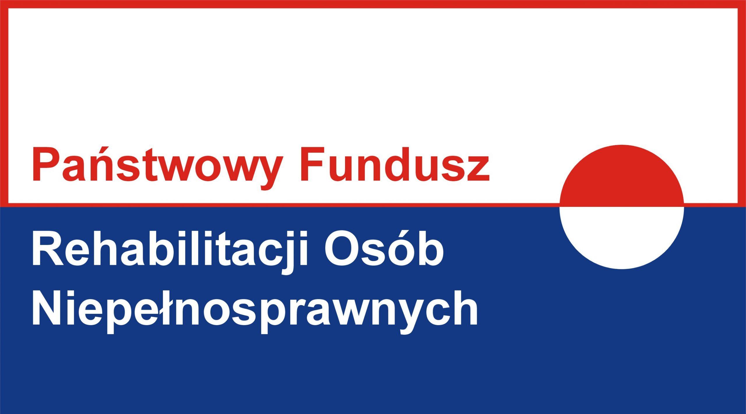 logo państwowy fundusz rehabilitacji osób niepełnosprawnych