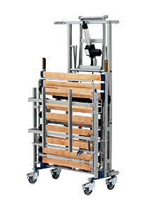 System transportu łóżka rehabilitacyjnego Bock