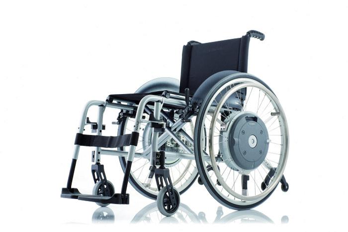 Wózek inwalidzki ręczny