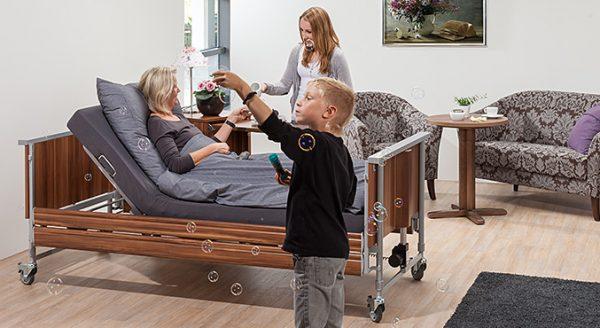 Łóżko rehabilitacyjne Domiflex Delux