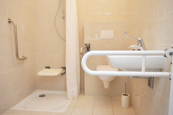 Łazienka uchwyt prysznic