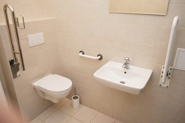 Umywalka dla niepełnosprawnych