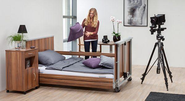 Łóżko rehabilitacyjne dla otyłych Adi.flex 220