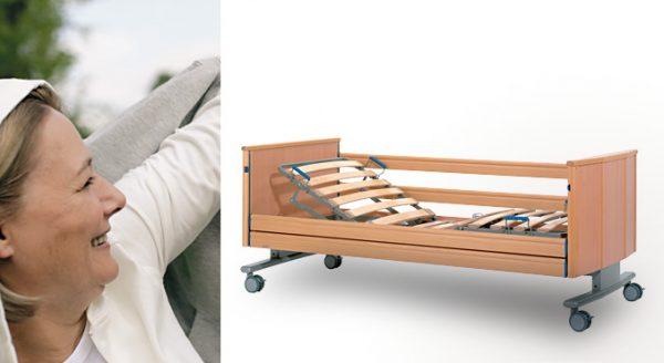 Łóżko rehabilitacyjne dla otyłych Adi.lec 220