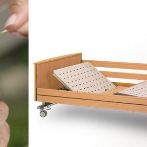 Łóżko rehabilitacyjne dla otyłych Adi.lec 280