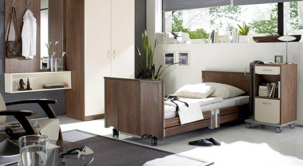 Łóżko rehabilitacyjne obniżone Ancona