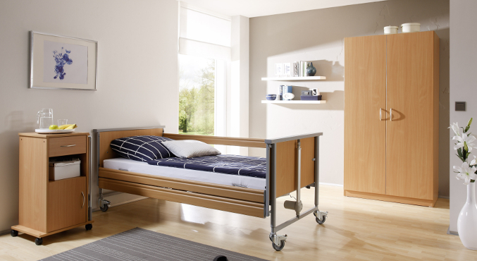 Łóżko rehabilitacyjne Domiflex 2 szafka nocna