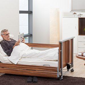 Łóżko rehabilitacyjne obniżone Domiflex Classic