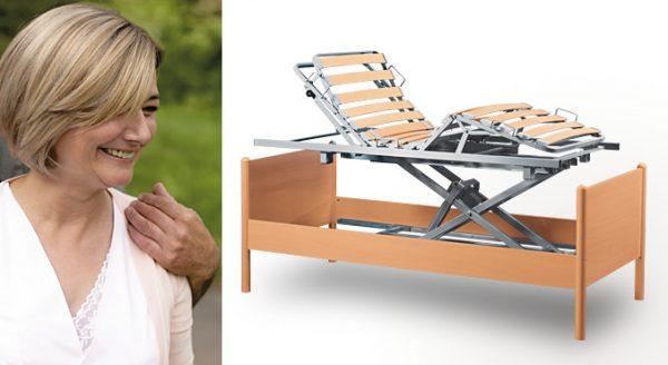 System łóżka rehabilitacyjnego variolift